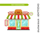 vector flat design illustration ... | Shutterstock .eps vector #604793543