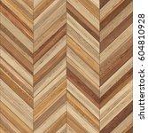 seamless wood parquet texture ... | Shutterstock . vector #604810928