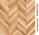 seamless wood parquet texture ... | Shutterstock . vector #604819904