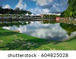 lake view from langkawi island  ... | Shutterstock . vector #604825028