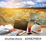 business working engineering... | Shutterstock . vector #604829804