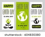 vector set of vertical banner... | Shutterstock .eps vector #604830380