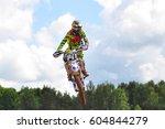 plunge lithuania june 12... | Shutterstock . vector #604844279