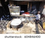 kibera slum kenya   september... | Shutterstock . vector #604846400