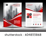 annual report brochure flyer... | Shutterstock .eps vector #604855868