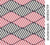 seamless vector abstract... | Shutterstock .eps vector #604856759