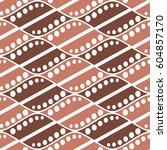 seamless vector abstract... | Shutterstock .eps vector #604857170