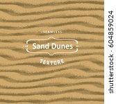 vector seamless sand texture... | Shutterstock .eps vector #604859024