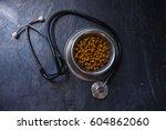 veterinary theme | Shutterstock . vector #604862060