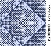 vector seamless pattern ... | Shutterstock .eps vector #604866020