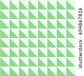 seamless vector abstract... | Shutterstock .eps vector #604867826