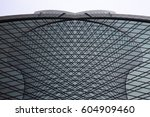 grid structures. reworked photo ... | Shutterstock . vector #604909460