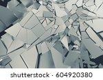 abstract 3d rendering of... | Shutterstock . vector #604920380