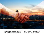 industry 4.0 internet of things ... | Shutterstock . vector #604935950