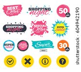 sale shopping banners. special...   Shutterstock .eps vector #604942190