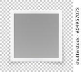 square image frame concept ... | Shutterstock .eps vector #604957073