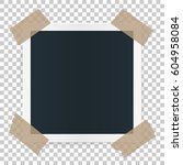photo frame concept isolated on ... | Shutterstock .eps vector #604958084