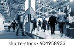 big trade fair | Shutterstock . vector #604958933
