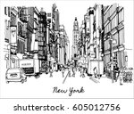 vector illustration of  new...   Shutterstock .eps vector #605012756