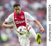 Small photo of NETHERLANDS, AMSTERDAM - 13th August 2016: Ajax player Jairo Riedewald at the Amsterdam ArenA