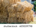 Piles Of Straw  Detail Of Pile...