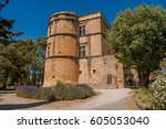 View Of The Lourmarin Castle...