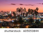 Beautiful Sunset Los Angeles Downtown - Fine Art prints