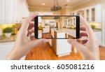 female hands holding smart... | Shutterstock . vector #605081216