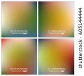 abstract creative concept... | Shutterstock .eps vector #605144444