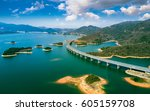 china's coastal islands seaside ... | Shutterstock . vector #605159708