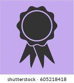 vector illustration of ribbon... | Shutterstock .eps vector #605218418