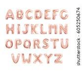 balloons abc alphabet   Shutterstock .eps vector #605250674