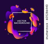 vector design template and... | Shutterstock .eps vector #605286440