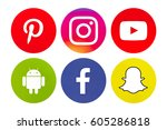 valencia  spain   march 20 ... | Shutterstock . vector #605286818