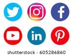 valencia  spain   march 20 ... | Shutterstock . vector #605286860