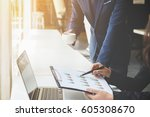 business concept. business... | Shutterstock . vector #605308670