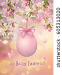 Happy Easter Card. Vector...