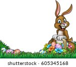 An Easter Background Frame...