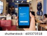 chiangmai  thailand  feb 13... | Shutterstock . vector #605373518