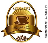label for coffee 2 | Shutterstock .eps vector #60538144