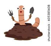 Illustrator Of Earthworm
