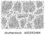 vector hand drawn doodle...   Shutterstock .eps vector #605392484