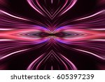 computer generated radial color ... | Shutterstock . vector #605397239