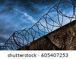 Barbed Wire Fence Detail...