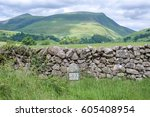 Cumbrian Hills With An Old...