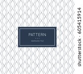 geometric seamless pattern.... | Shutterstock .eps vector #605415914