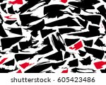 hand drawn pattern texture... | Shutterstock .eps vector #605423486