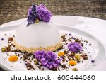 Ice Cream With Lavender  Honey...