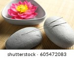 Acupuncture Needles With Stone...