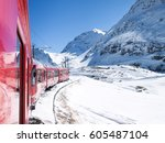 Bernina  Switzerland  Trains O...